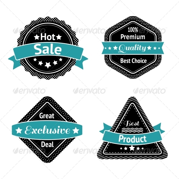 GraphicRiver Collection of Sale Label Stickers 6958776