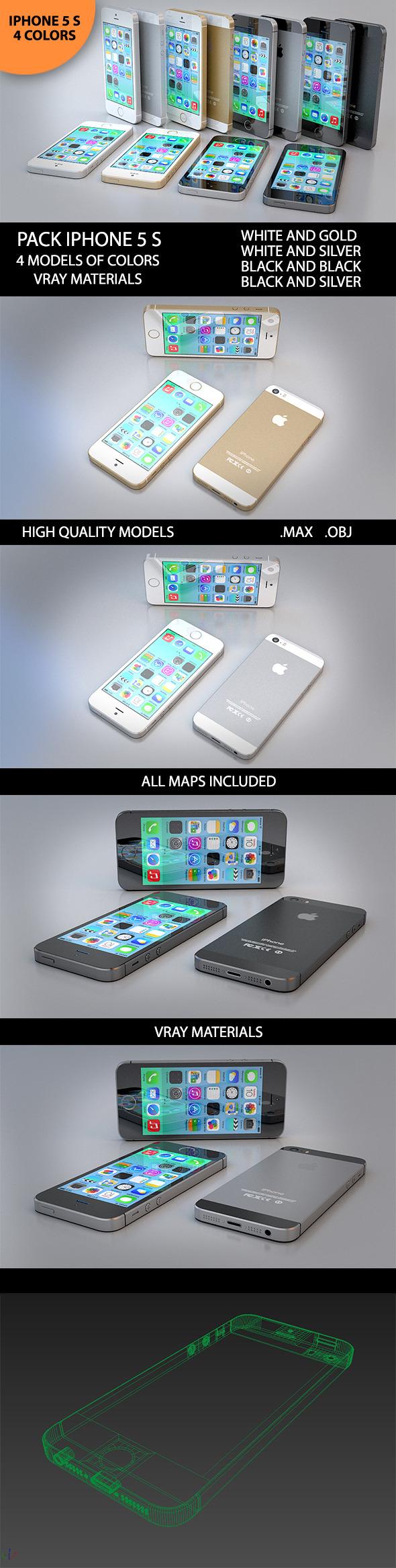 3DOcean 3D New Iphone 5 S 6959354