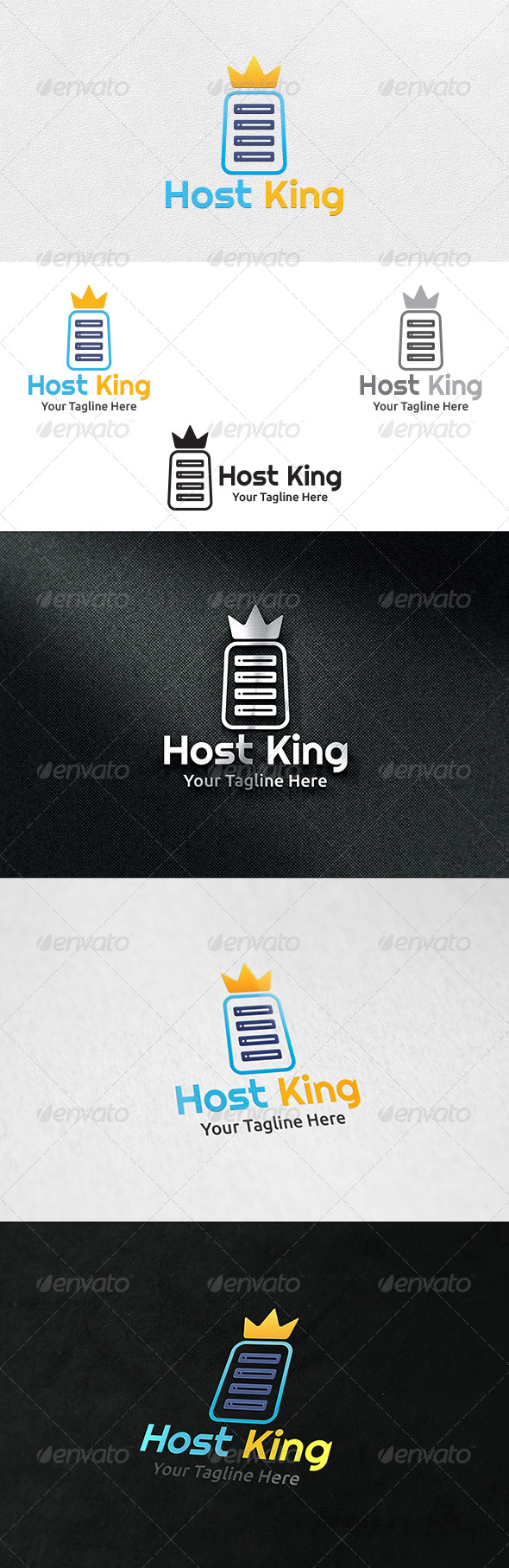 GraphicRiver Host King Logo Template 6959434