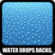 Water Drops Backgrounds No.1 - GraphicRiver Item for Sale