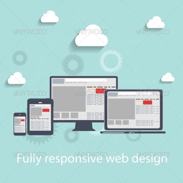 GraphicRiver Responsive Web Design Icons 6959747