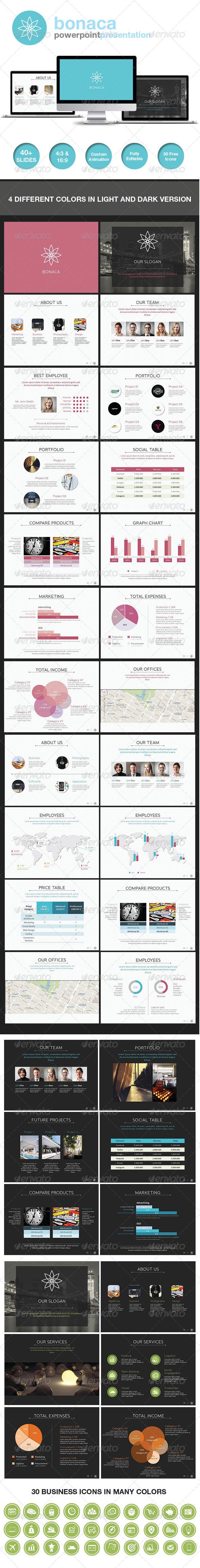 GraphicRiver Bonaca Powerpoint Presentation 6960295