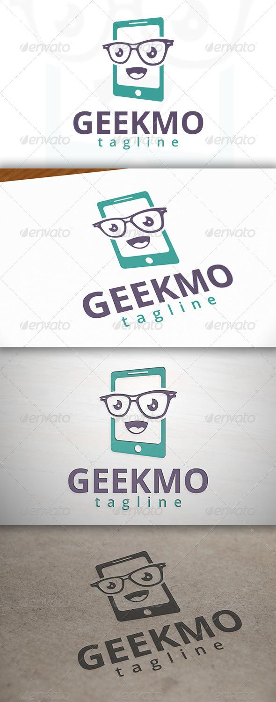 GraphicRiver Geek Mobile Logo 6961251