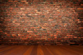 Room with brick wall - PhotoDune Item for Sale