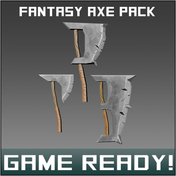 Fantasy Weapon Axe Pck