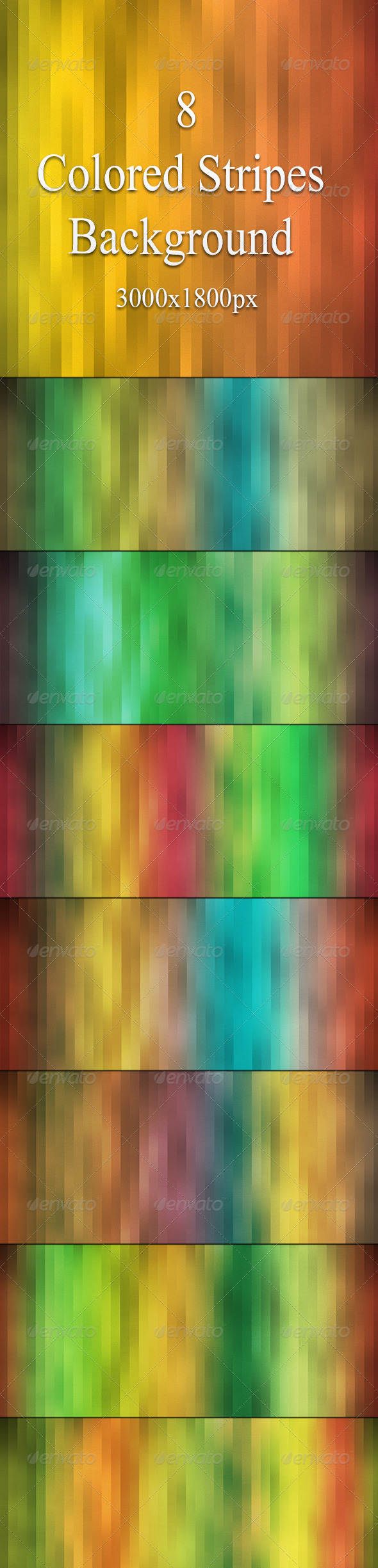 GraphicRiver Colored Stripes Background 6961630