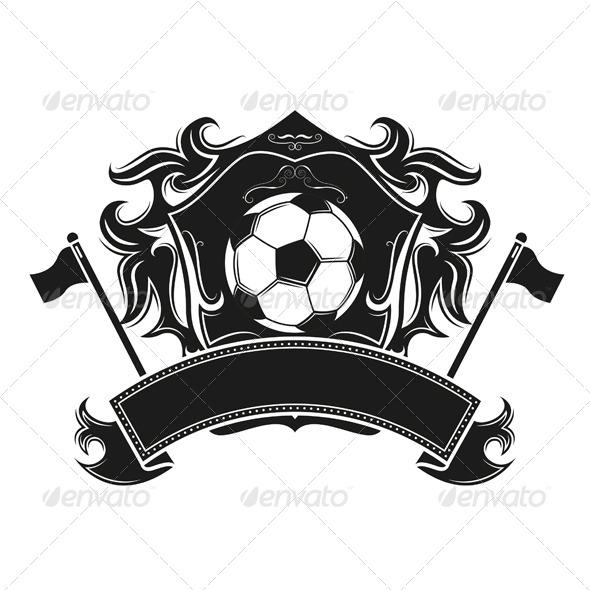 GraphicRiver Soccer Emblem Vintage Design 6961652
