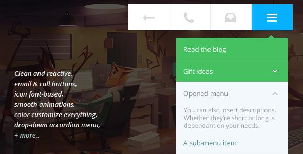 CodeCanyon Touchy A WordPress mobile menu plugin 6961708