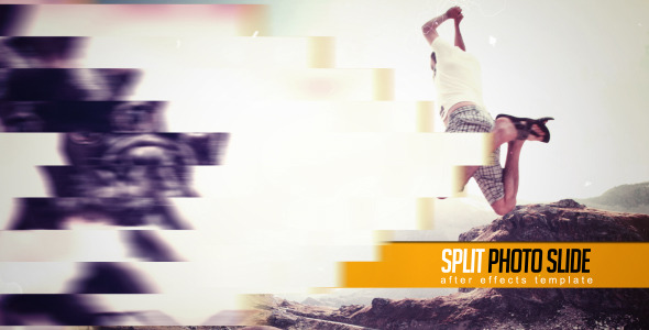 FREE After Effects Template - Split Photo Slide