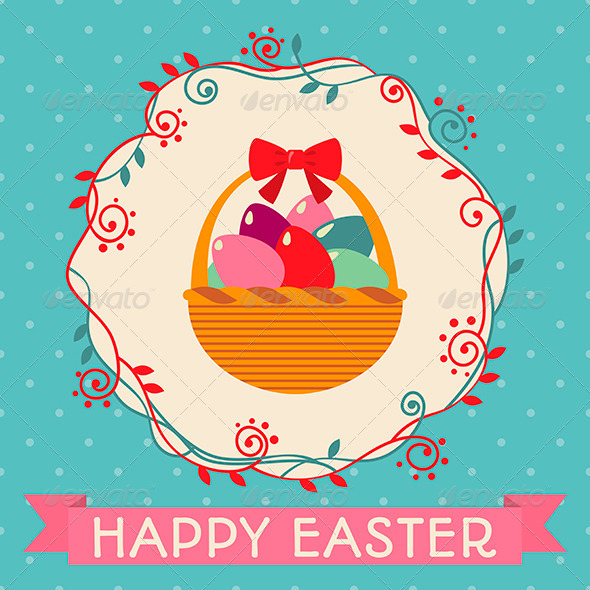 GraphicRiver Tenderness Easter Card 6962360