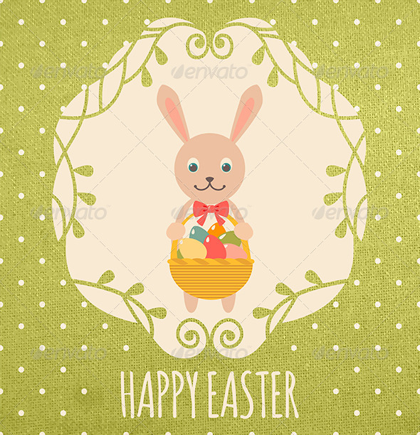 GraphicRiver Tenderness Easter Card 6962365