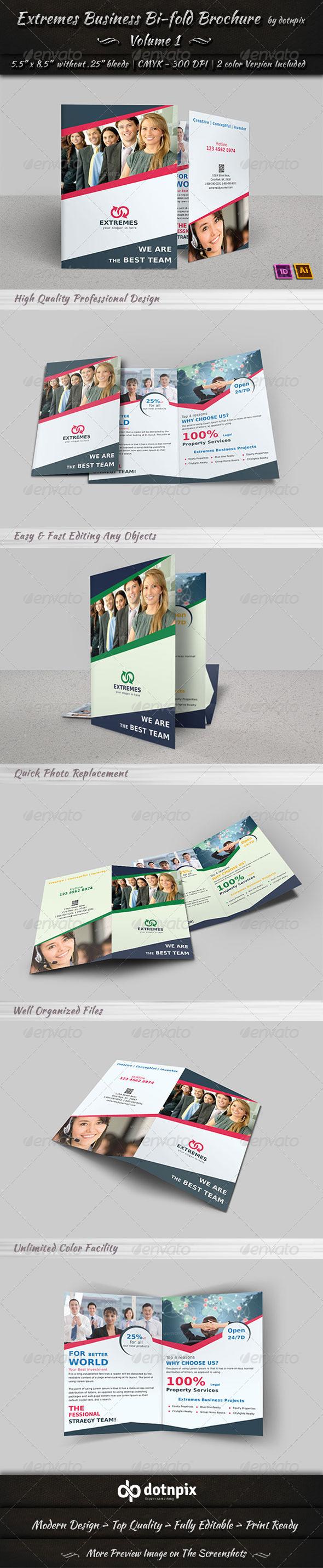 GraphicRiver Corporate Business Bi-Fold Brochure Volume 3 6881566