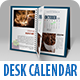 September - Realistic Desk Calendar Mock Up - GraphicRiver Item for Sale