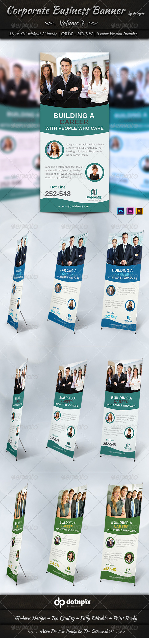 GraphicRiver Corporate Business Banner Volume 7 6963585