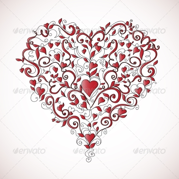 Heart-Shaped Ornament