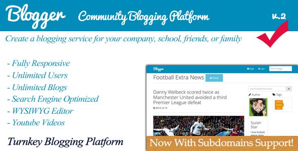 Blogger - Community Blogging Platform