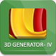 3D Separator - Photoshop Actions