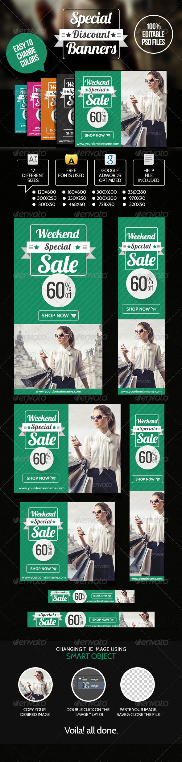 GraphicRiver Special Discount Banners 6964618