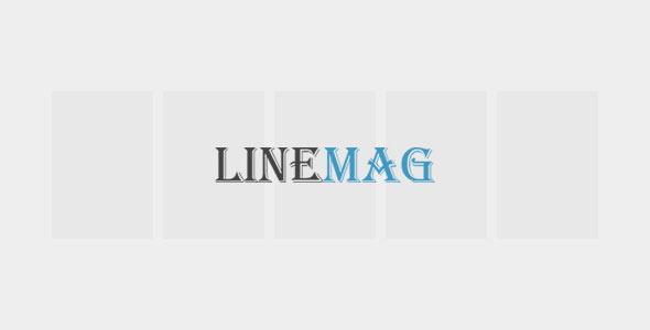 ThemeForest LineMag 6964763