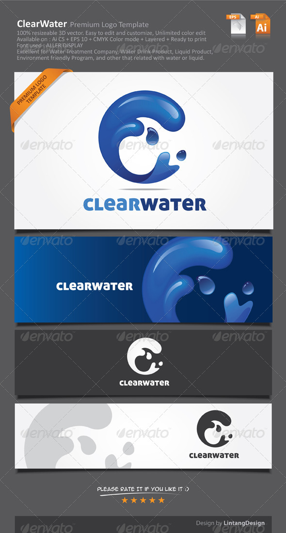 GraphicRiver 3D Vector Nature Logo-002 6964816
