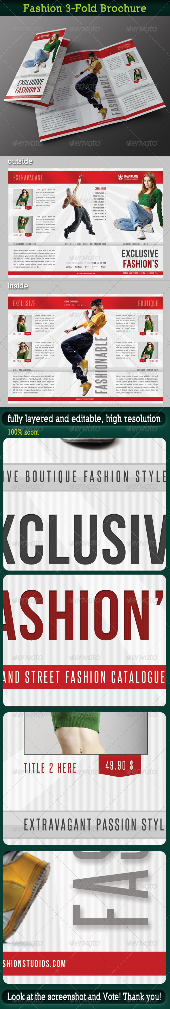 Fashion 3-Fold Brochure 15