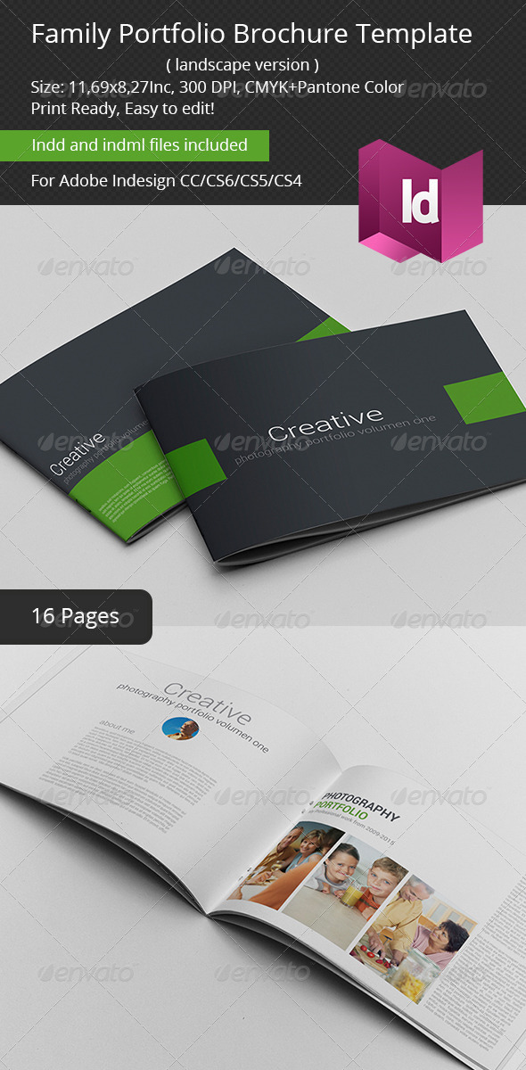 GraphicRiver Family Portfolio Brochure Template 6964837