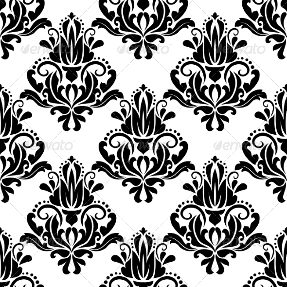 GraphicRiver Damask Seamless Pattern Background 6964840