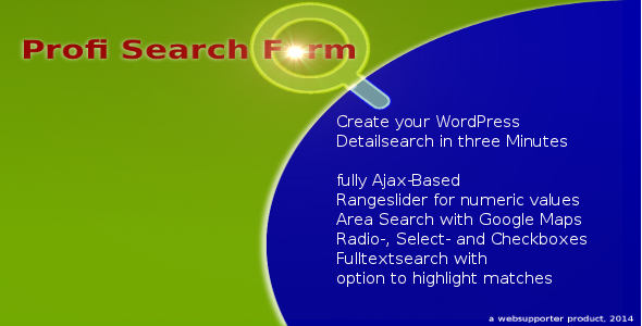 CodeCanyon Profi Search From a Detail Search for WordPress 6964843