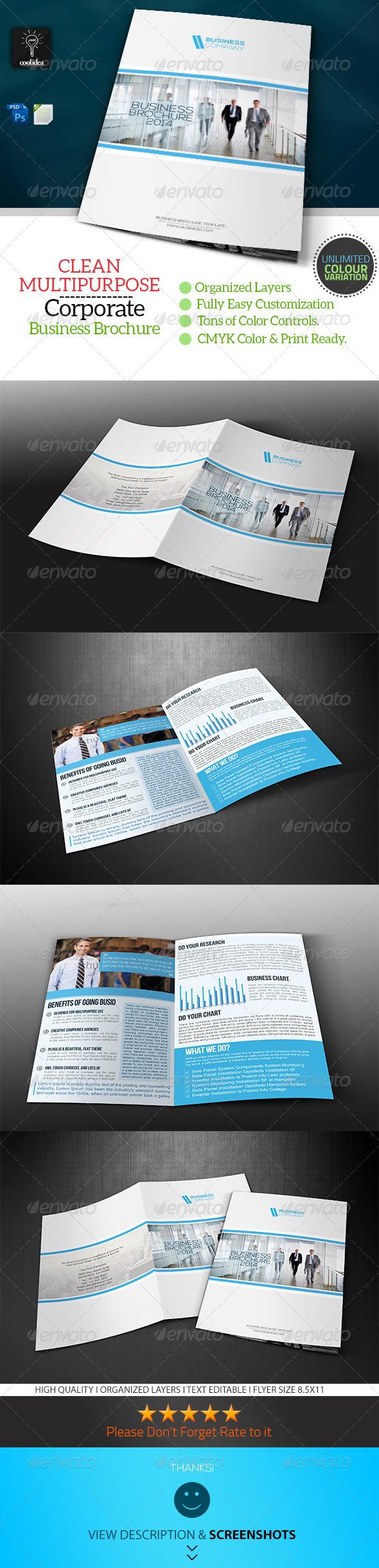 GraphicRiver Business Brochure Bifold Template Vol02 6964855