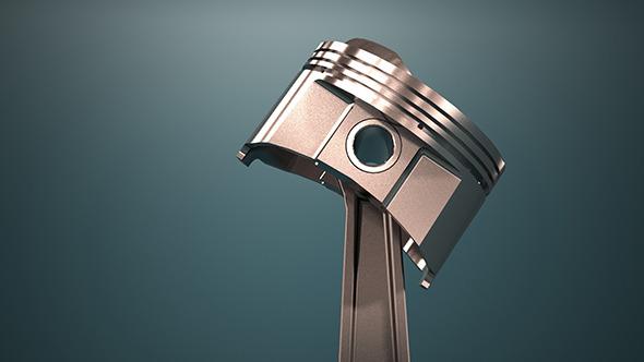 engine piston - 3DOcean Item for Sale