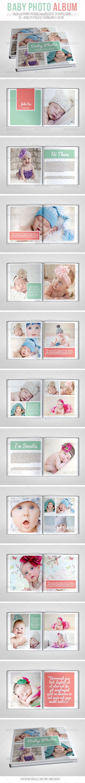 GraphicRiver Baby Photo Album 6964950