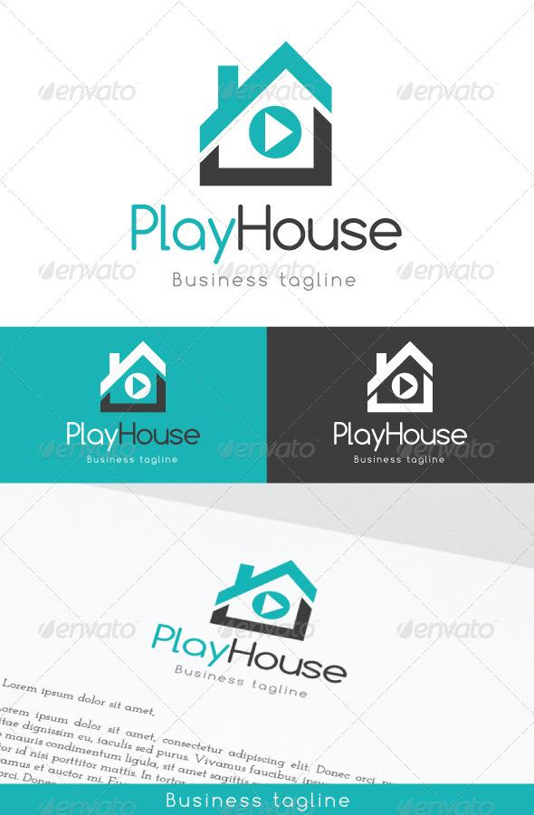 GraphicRiver PlayHouse Logo Template 6964962
