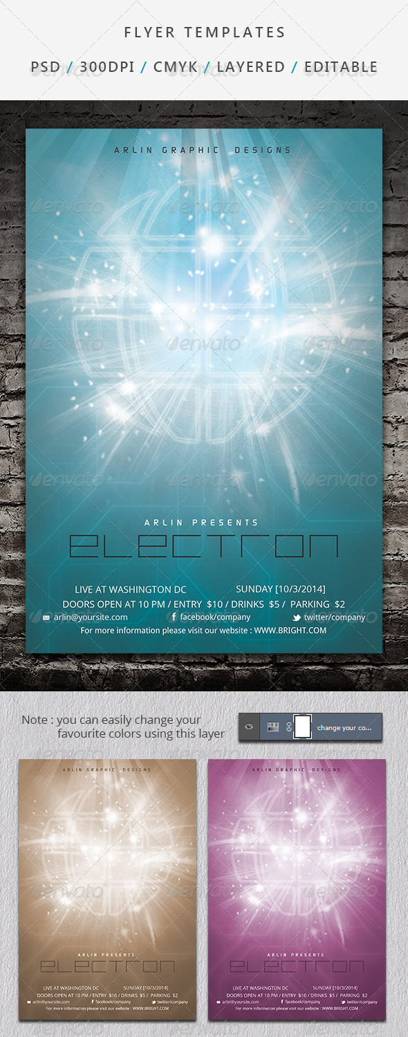 GraphicRiver Flyer Template 03 6965025
