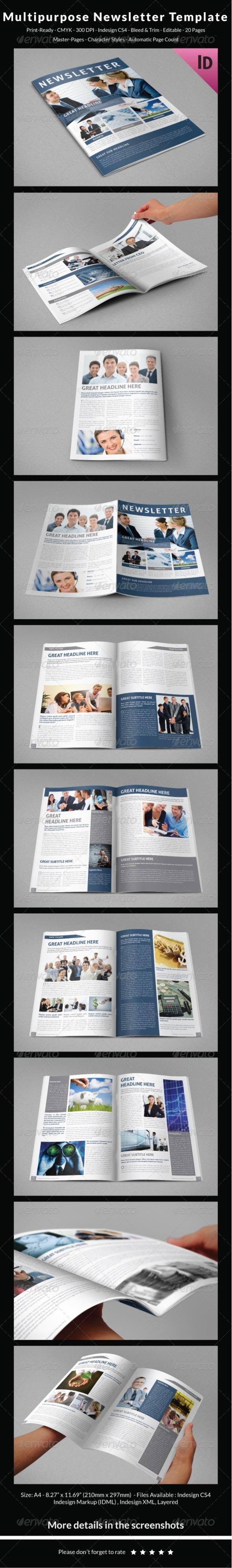 GraphicRiver Multipurpose Newsletter Template 6961183