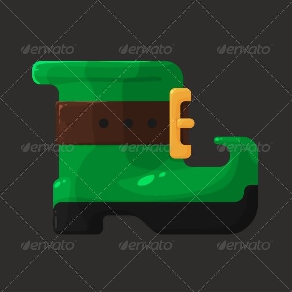 GraphicRiver Boots of Leprechaun for St Patricks Day 6965085