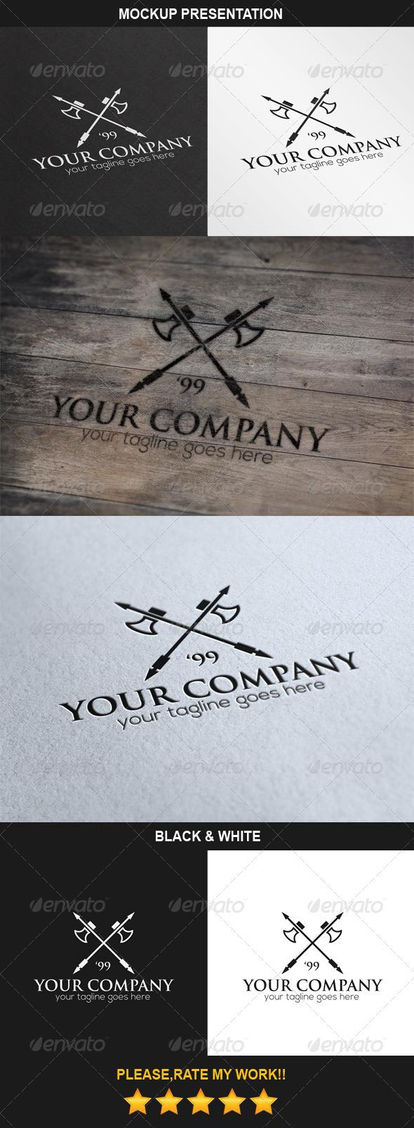 GraphicRiver Axes Logo 6965171