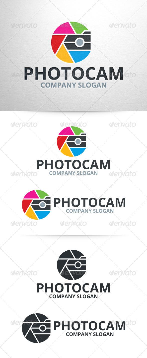 GraphicRiver Photo Cam Photography Logo 6965256