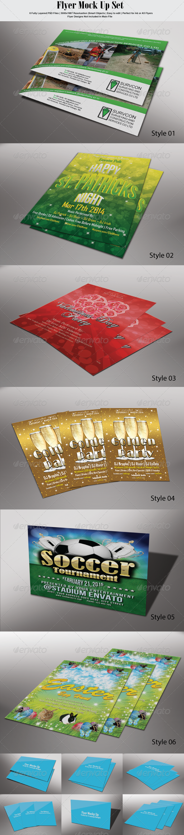 GraphicRiver Flyer Mock Up 6943181