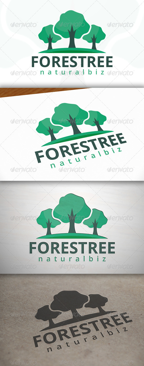 GraphicRiver Forest Media Logo 6965524