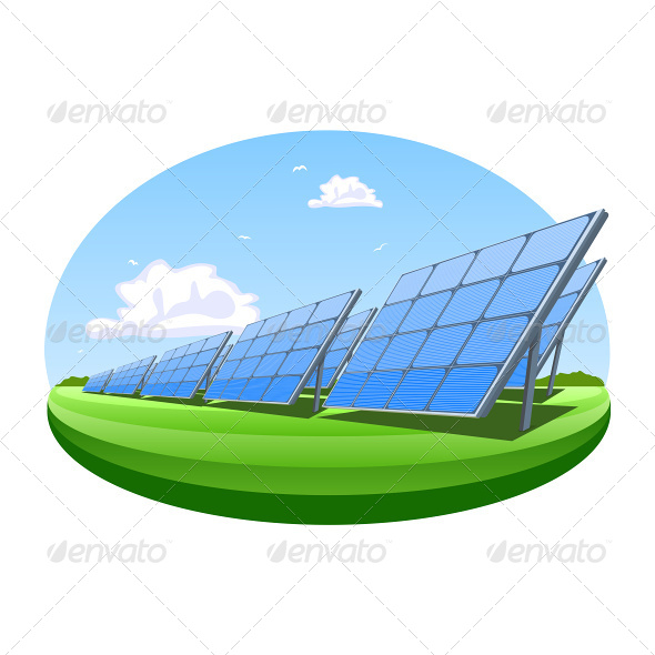 GraphicRiver Solar Panels 6965902