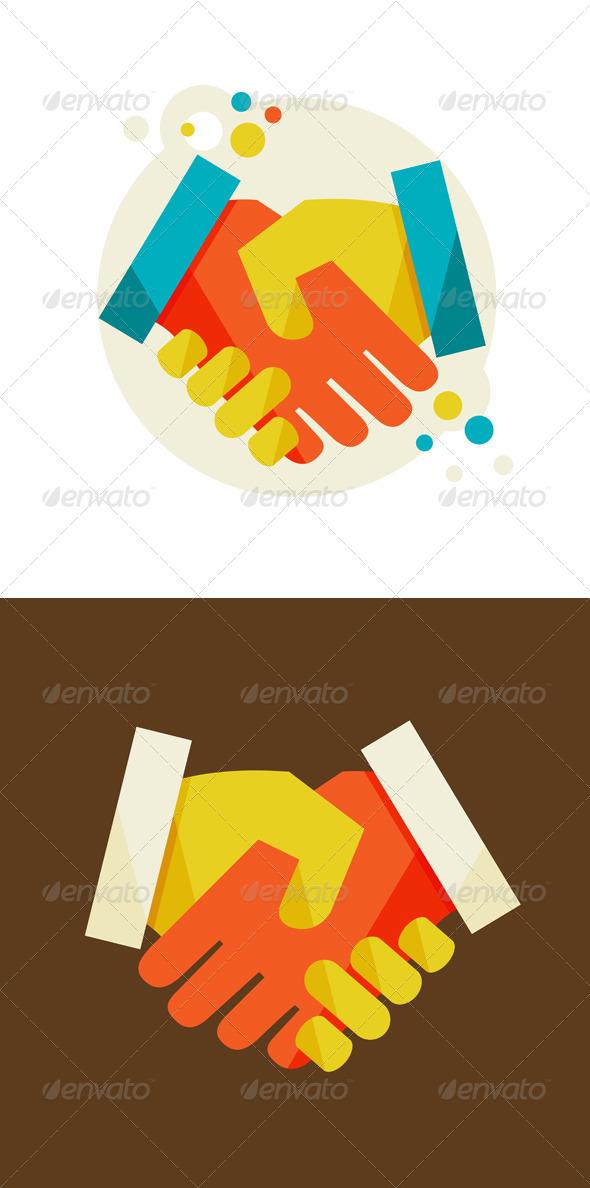 GraphicRiver Handshake 6966227
