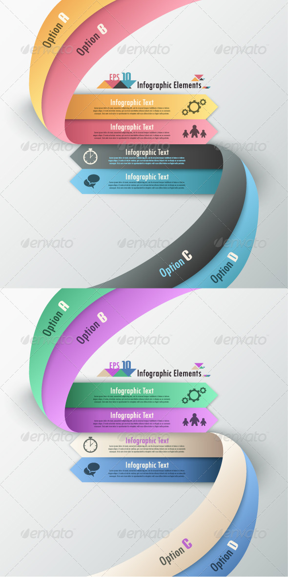 GraphicRiver Modern Infographic Options Banner Two Versions 6966343