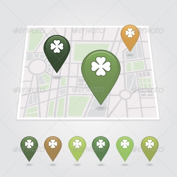 GraphicRiver Mapping Pins Icon 6966716