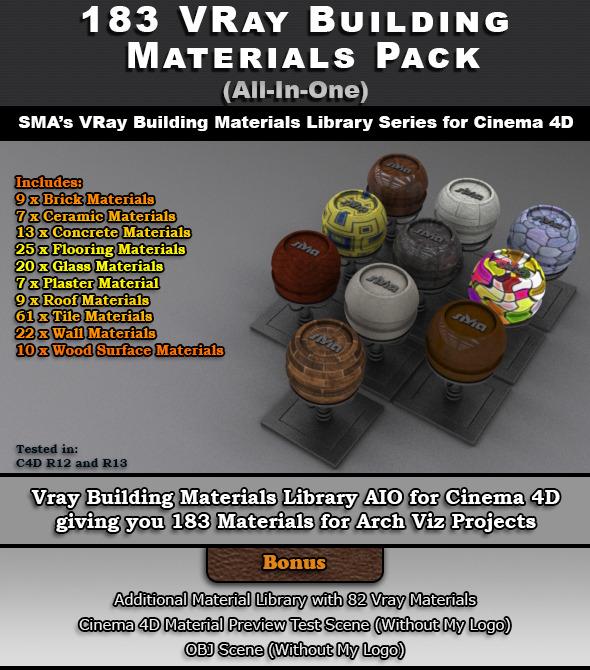 183 Vray Building Materials