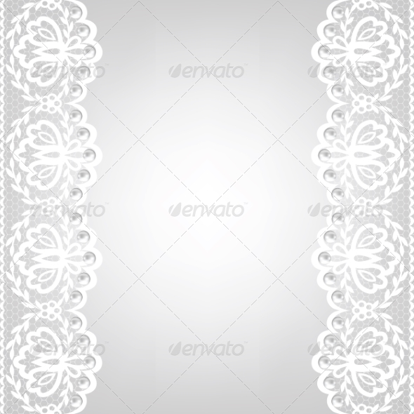 GraphicRiver Lace Fabric Background 6967450