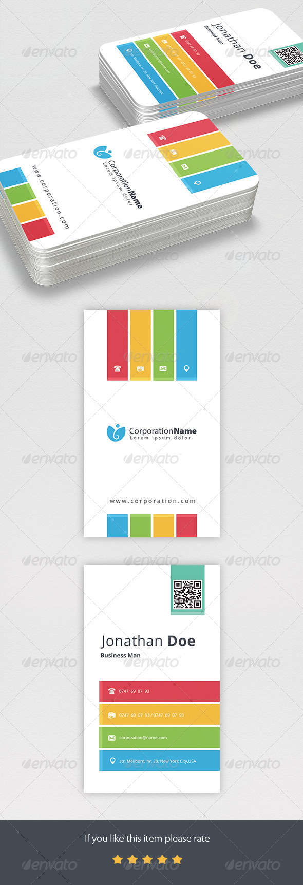GraphicRiver Corporate Business Card 6967561