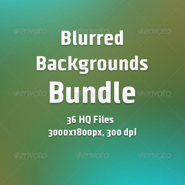 GraphicRiver Blurred Backgrounds Bundle 6967564
