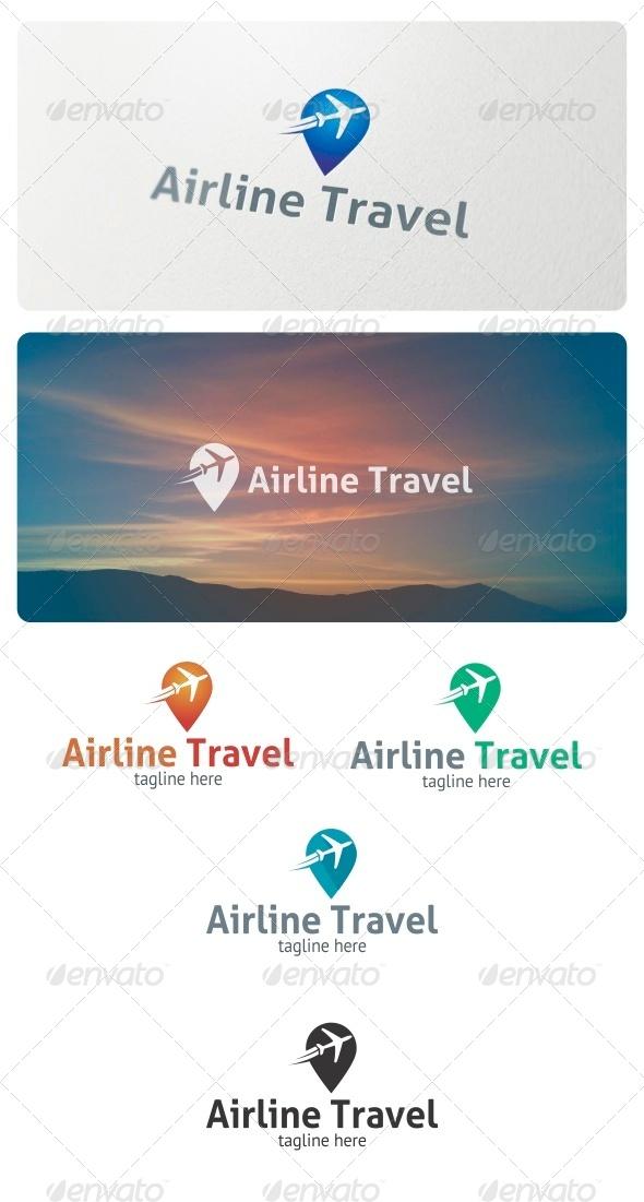 GraphicRiver Airline Travel Logo 6968084