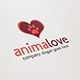 Animalove Logo - GraphicRiver Item for Sale