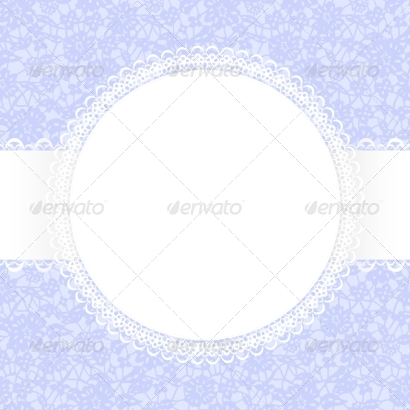 GraphicRiver Lace Fabric Background 6968311